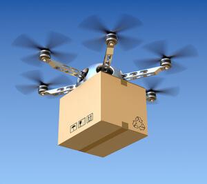 Drohnen sind Zukunft des E-Commerce